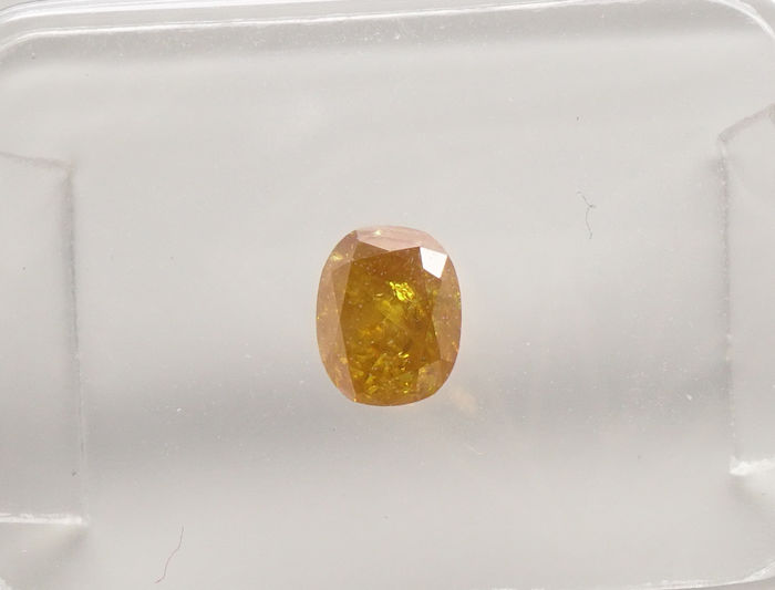 Fancy Diamond  Valuation Report 123965, 0.35 cts.