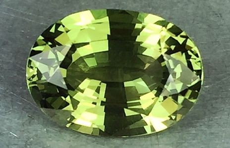 Chrysoberyl  Valuation Report 101543, 3.00 cts.