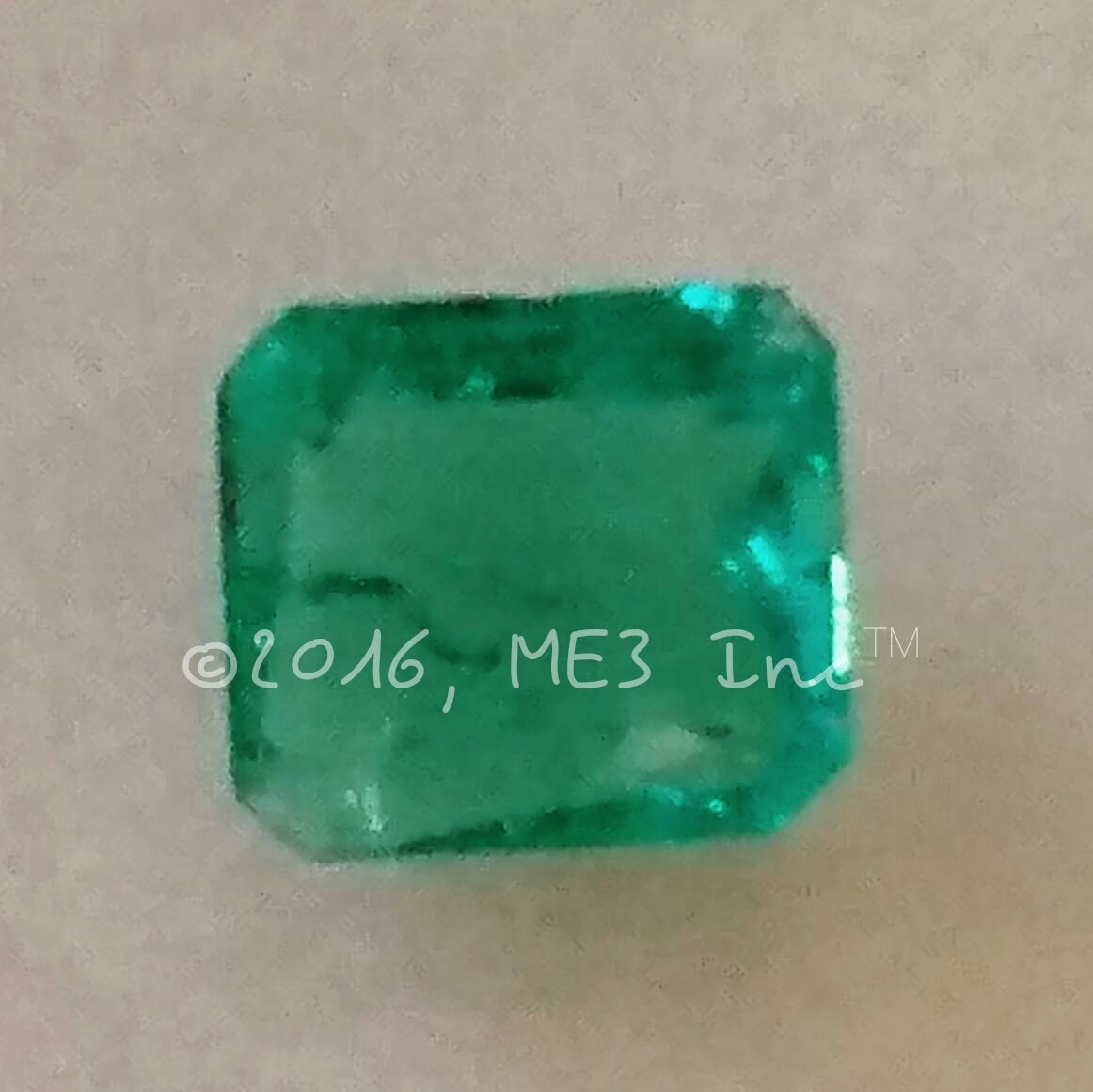 Emerald  Valuation Report 101579, 0.82 cts.
