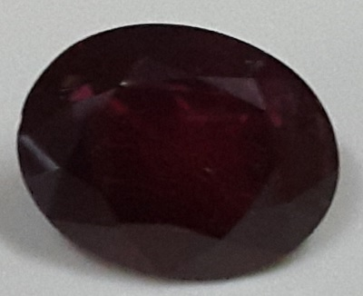 Ruby  Valuation Report 96069, 1.88 cts.