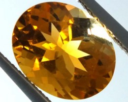 Citrine  Valuation Report 107401, 2.60 cts.
