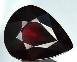Rhodolite Garnet  Valuation Report 107411, 5.45 cts.