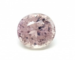 Kunzite  Valuation Report 107631, 12.85 cts.